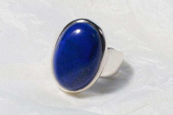 Bague Lapis Lazuli (Afghanistan) Ovale 1121