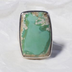 Bague Variscite (Nouvelle Zélande) Rectangle 1721
